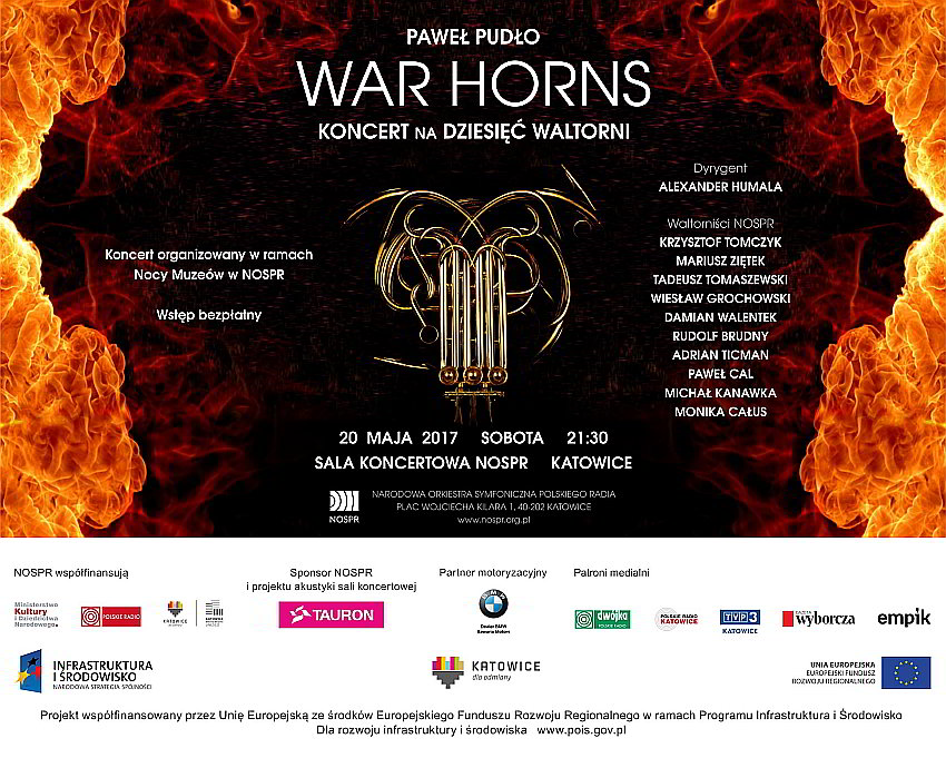 War Horns 2017 NOSPR